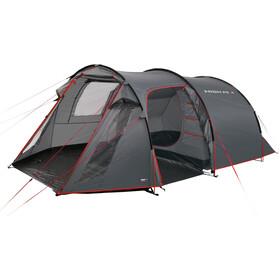 High Peak Fermo 3 Tente, dark grey/red